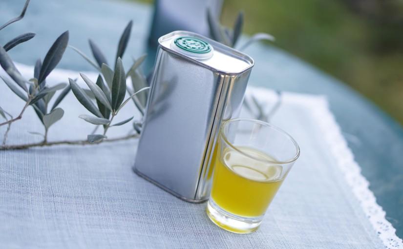 Nous avons récupéré notre huile d'olive aumoulin